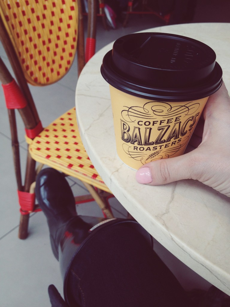 Balzac's coffee shop Toronto