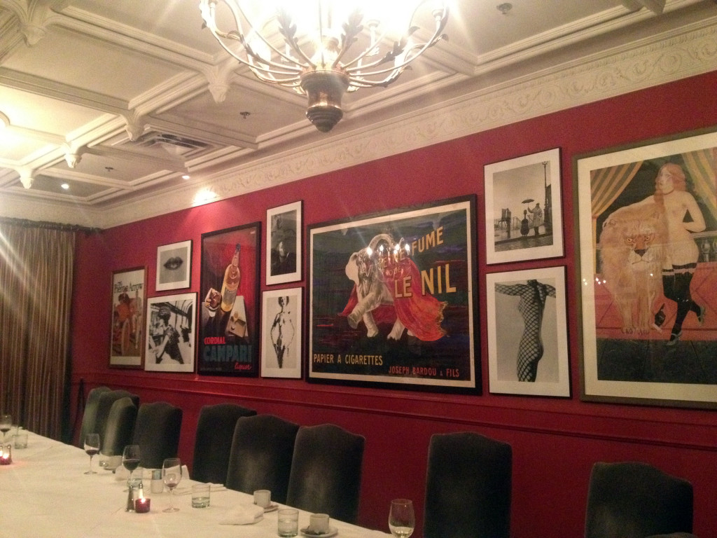 Biff's Bistro Red Room